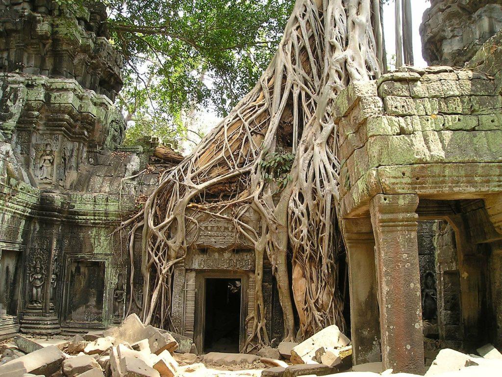 Story of Angkor wat Hindu temple