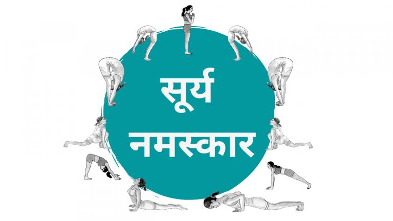 surya namaskar in hindi with mantra and benefit