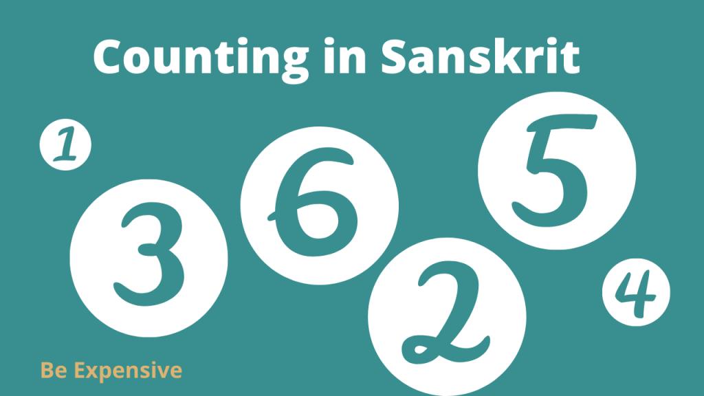 counting in Sanskrit _ Sanskrit mein 1 se lekar 100 tak ginti