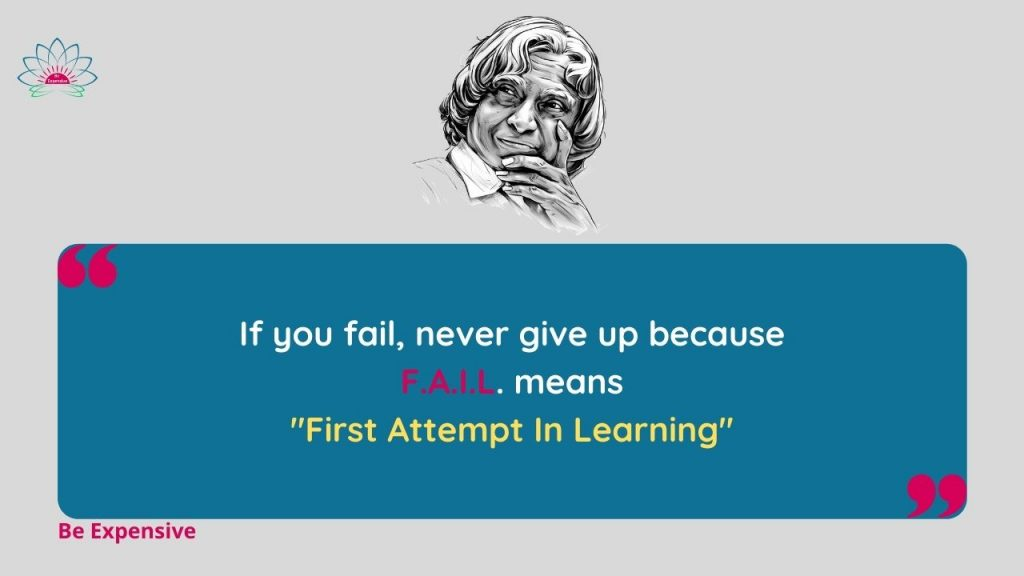 APJ Abdul Kalam Quotes in English